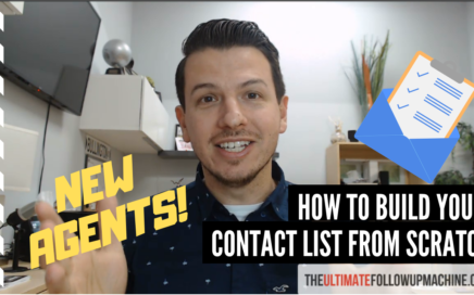 How to build you real estate contact list for new agents