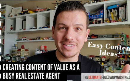 Content Ideas for busy Real Estate Agents